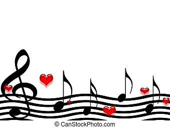 μουσική , χαρτί