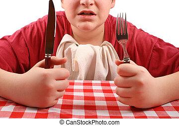 μου , dinner?, where\\\'s