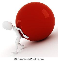 μπάλα , ανοίγω δρόμο σπρώχνοντας ανακριτού , λόφος , άντραs...