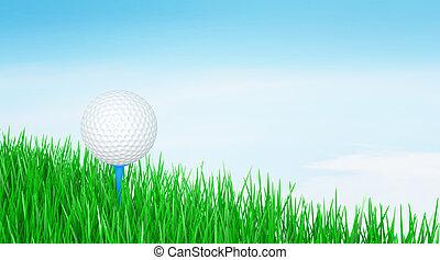 μπάλα , γκολφ