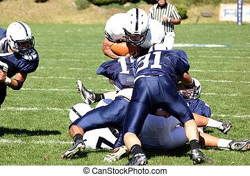 μπάλα ποδοσφαίρου runningback