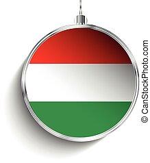 μπάλα , xριστούγεννα , σημαία , εύθυμος , ουγγαρία , ...