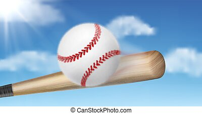 μπέηζμπολ , βαράω , 3d , νυχτερίδα , ρεαλιστικός , μικροβιοφορέας , μπάλα