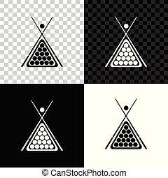 μπιλιάρδο μπάλα , τρίγωνο , απομονωμένος , εικόνα , απαιτώ υπερβολικό νοίκι από , φόντο. , νύξη , μικροβιοφορέας , μαύρο , άσπρο , διαφανής , εικόνα