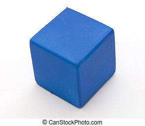 μπλε , ένταση , κύβος