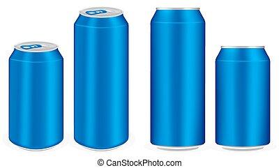 μπλε , αλουμίνιο , πίνω , μαλακό , cans