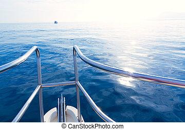 μπλε , απόπλους , μεσογειακός , δοξάρι , ατάραχα , θάλασσα , βάρκα