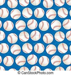 μπλε , αρχίδια , πρότυπο , seamless, φόντο , μπέηζμπολ