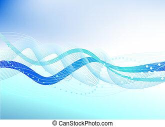 μπλε , αφαιρώ , εικόνα , νερό , μικροβιοφορέας , φόντο