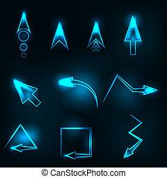 μπλε , αφαιρώ , μικροβιοφορέας , βέλος , λαμπερός
