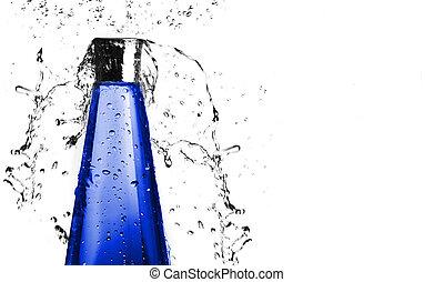 μπλε , βουτιά , μπουκάλι