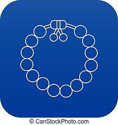 μπλε , βραχιόλι , γοητευτικός , μικροβιοφορέας , gemstone , εικόνα