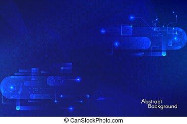 μπλε , γενική ιδέα , hi-tech , elements., components., δεδομένα , αφαιρώ , λαμπερός , εικόνα , φόντο. , ευφυής , connections., μικροβιοφορέας , ταχύτητες , καθιερώνων μόδα , γεωμετρικός , τεχνολογία , έκθεση , ακαταλαβίστικος , backdrop.