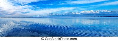 μπλε , γραφική εξοχική έκταση. , argentario, italy., πανοραματικός , ηλιοβασίλεμα , orbetello, λιμνοθάλασσα