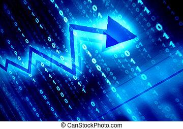 μπλε , δεδομένα , διάστημα