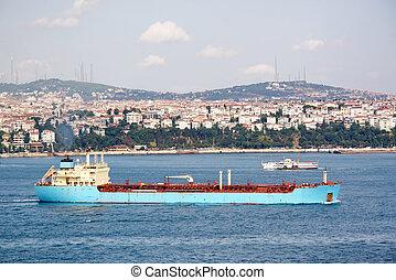 μπλε , δεξαμενόπλοιο , πλοίο