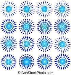 μπλε , διάταξη