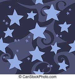μπλε , διαμέρισμα , pattern., seamless, μικροβιοφορέας , αστέρας του κινηματογράφου , γελοιογραφία
