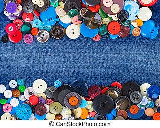 μπλε , διαφορετικός , διάστημα , χονδρό παντελόνι εργασίας , κουμπιά , αντίγραφο