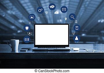 μπλε , διεύθυνση , marketing., δίκτυο , μέσα ενημέρωσης , laptop , κενό , connection., κατ' ουσίαν καίτοι όχι πραγματικός , επιχείρηση , ηλεκτρονικός υπολογιστής , ψηφιακός , διαφήμιση , οθόνη , tone., άσπρο , εικόνα , μεταλλαγή , τεχνολογία