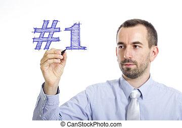 μπλε , εδάφιο , - , νέος , επιφάνεια , γράψιμο , επιχειρηματίας , #1, διαφανής