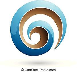 μπλε , εικόνα , σχήμα , μικροβιοφορέας , μπεζ , λείος , δίνη , 3d