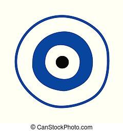 μπλε , ελληνικά , μικροβιοφορέας , μάτι , κακό