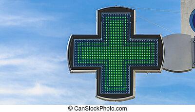 μπλε , επιστήμη των ηλεκτρονίων , ουρανόs , σταυρός , φαρμακευτική