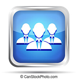 μπλε , επιχειρηματίας , σύνολο , εικόνα