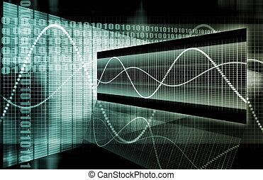 μπλε , εταιρικός , δεδομένα , διάγραμμα