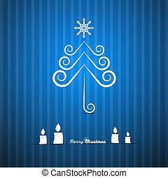 μπλε , εύθυμος , αφαιρώ , μικροβιοφορέας , φόντο , xριστούγεννα