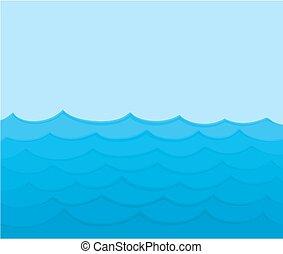 μπλε , θάλασσα , waves.