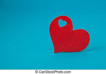 μπλε , καρδιά , αριστερός φόντο