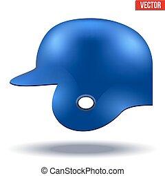 μπλε , κράνος , μπέηζμπολ