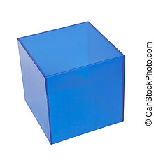 μπλε , κύβος