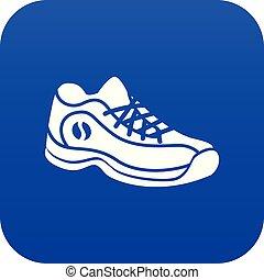 μπλε , μικροβιοφορέας , πάνινα παπούτσια , εικόνα