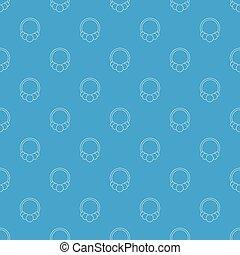 μπλε , μόδα , πρότυπο , βραχιόλι , seamless, μικροβιοφορέας