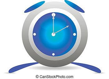 μπλε , ξυπνητήρι