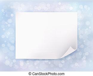 μπλε , οθόνη , paper., εικόνα , μικροβιοφορέας , φόντο ,...