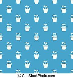 μπλε , πρότυπο , εργοστάσιο , μικροβιοφορέας , seamless