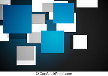 μπλε , πρότυπο , κύβος