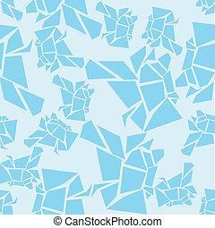 μπλε , πρότυπο , παγόβουνο , seamless