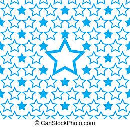 μπλε , πρότυπο , backgro , αστέρι , seamless