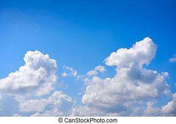μπλε , πυκνό σύννεφο , αγαθός κλίμα , θαμπάδα