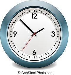 μπλε , ρολόι