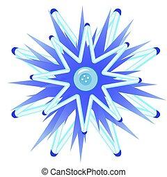 μπλε , ρυθμός , illustration., κουμπί , απομονωμένος , γελοιογραφία , φόντο. , μικροβιοφορέας , αγαθός διακοπές χριστουγέννων