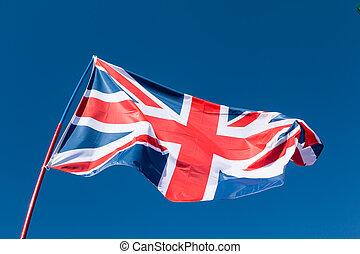 μπλε , σημαία , ουρανόs , βρεταννίδα