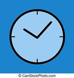 μπλε , σύμβολο , ρολόι