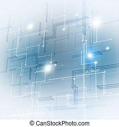 μπλε , τεχνολογία , φόντο
