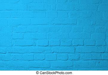μπλε , τούβλο , φόντο